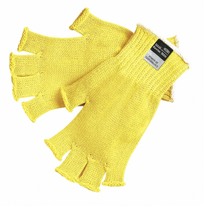 CUT RESISTANT GLOVES A3 M YELLOW PK12 by MCR Safety