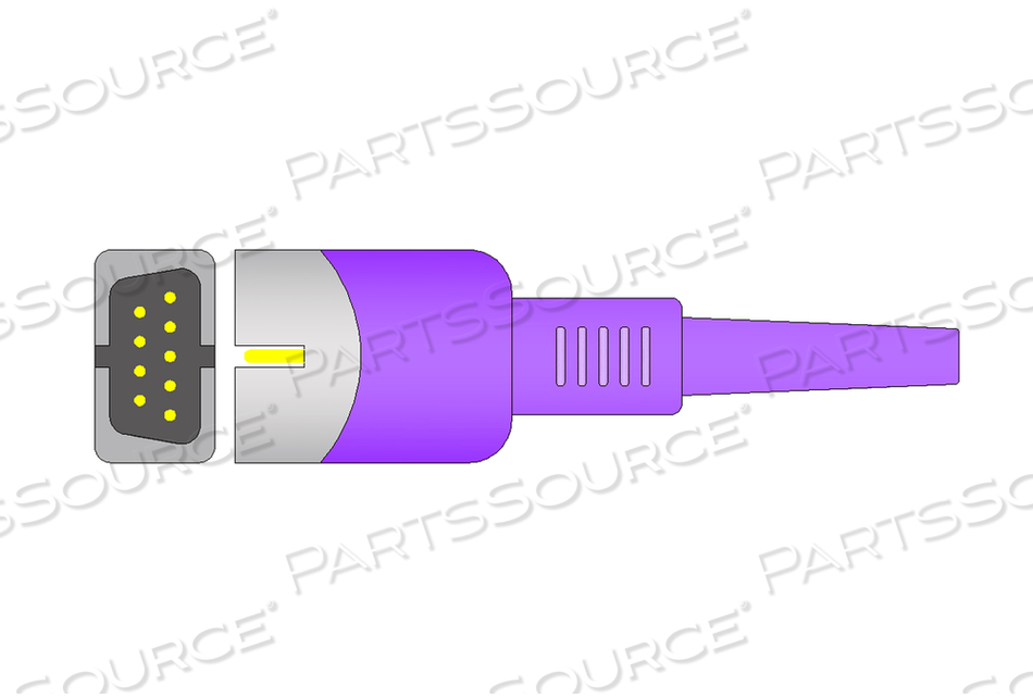 DS-100A SPO2 SENSOR WITH FINGERCLIP, ADULT, 3 FT