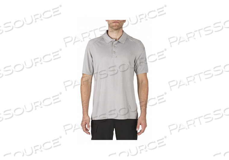 J5699 HELIOS POLO S HEATHER GRAY by 5.11 Tactical