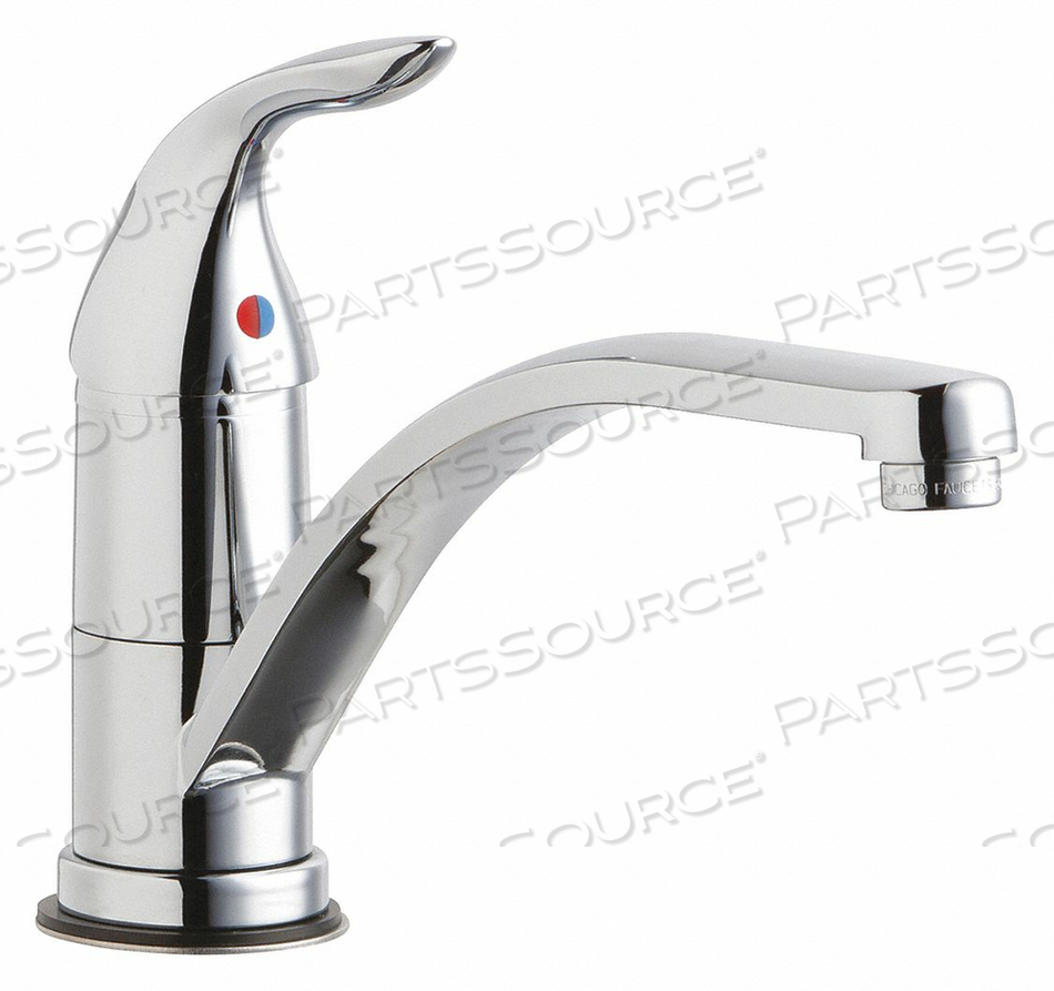 LOW ARC CHROME CHICAGO FAUCETS 430 BRASS by Chicago Faucets