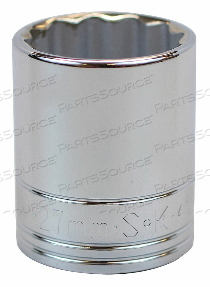 SOCKET 1/2 IN DR 31MM 12 PT. by SK Professional Tools