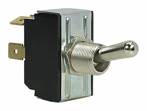 TOGGLE SWITCH DPST 10A @ 250V QUIKCONNCT by Carling Technologies