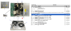 COPRA/CEB PRINTED CIRCUIT BOARD by Siemens Medical Solutions