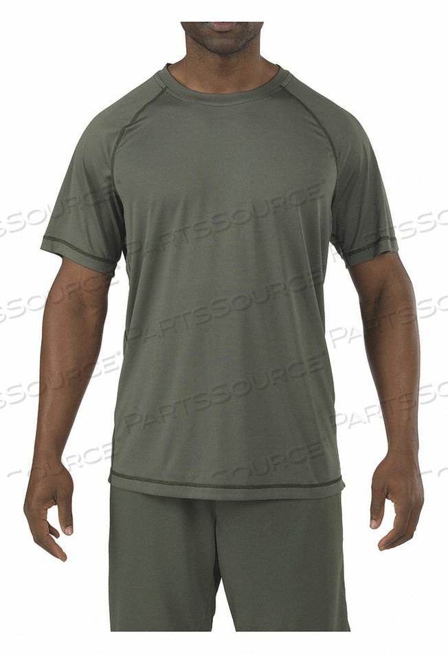 MENS UTILITY T-SHIRT TDU GREEN XL by 5.11 Tactical