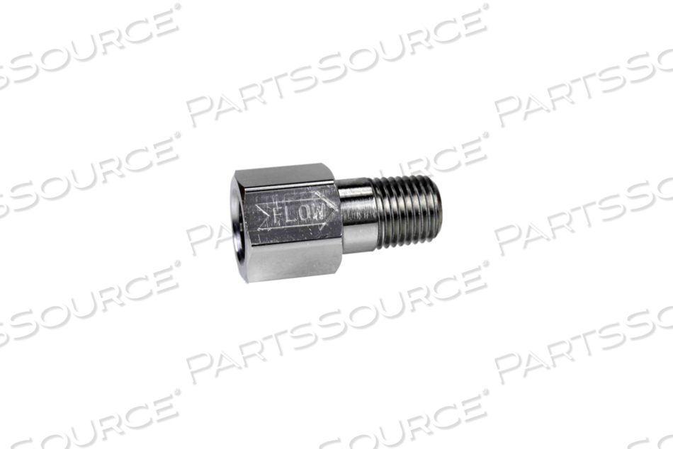 """CV 1/4"""" NPT FEMALE INLET X 1/4"""" NPT FEMALE OUTLET, ADAPTOR W/ NITRILE O-RING by Bay Corporation"""