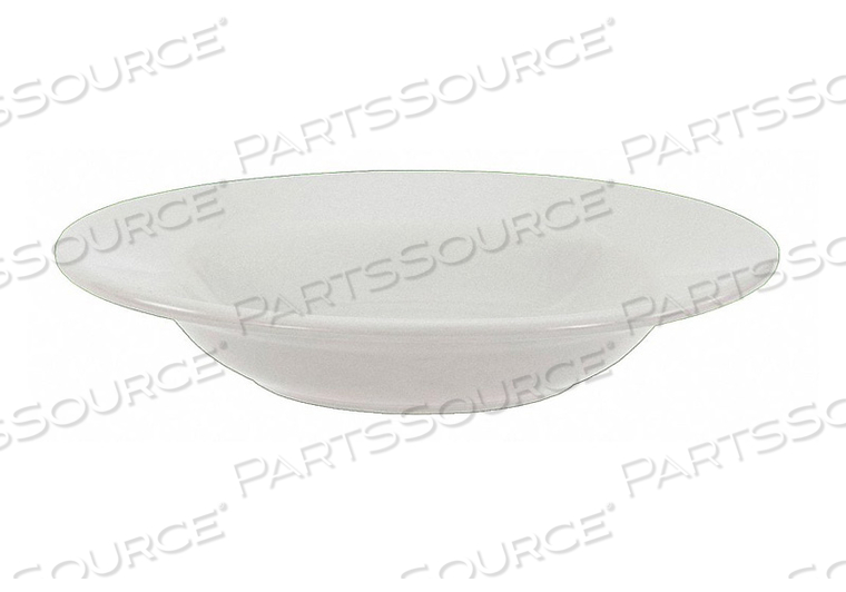 RIMMED BOWL BRIGHT WHITE 12 OZ. PK24 by Crestware