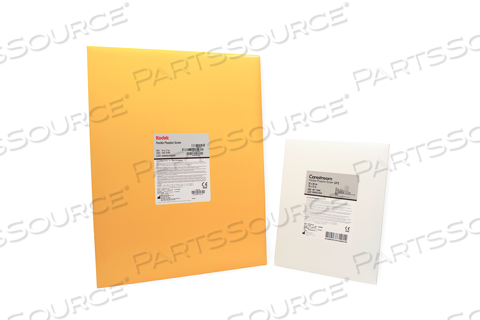 CR FLEXIBLE PHOSPHOR IMAGING PLATE, 10 IN X 12 IN by RC Imaging (Formerly Rochester Cassette)