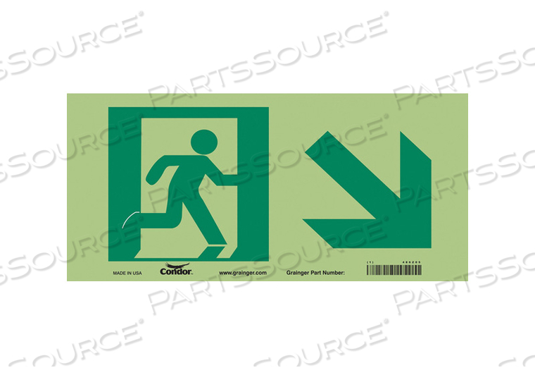 SAFETY SIGN 7 X15 by Condor