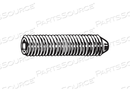 SET SCREW CONE 30MM L PLAIN PK1300 by Fabory