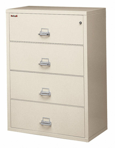 LATERAL FILE 4 DRAWER 31-3/16 IN W by Fire King
