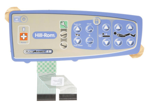 RIGHT CAREGIVER OVERLAY W/BED CONTROLS AND NURSE CALL by Hill-Rom