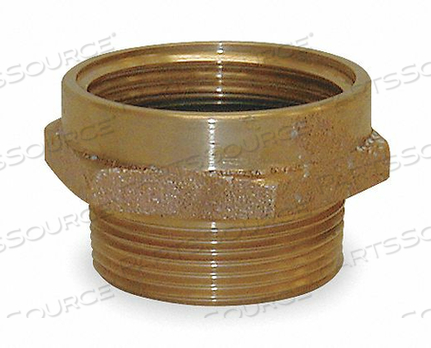FIRE HOSE ADAPTER 1-1/2 NH 2 NPT by Moon American