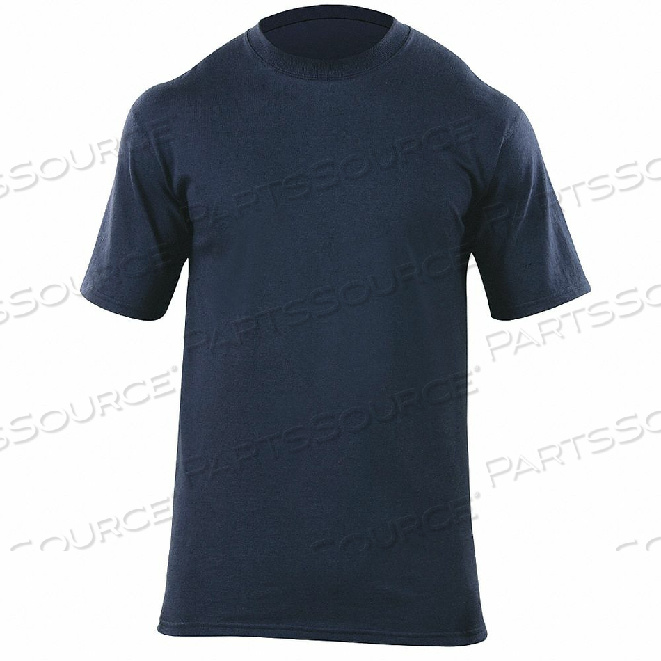 STATION WEAR SHORT SLEEVE SHRT NVY CTN M by 5.11 Tactical