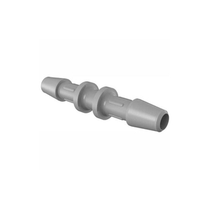 """3/16"""" BARBED STRAIGHT COUPLER, 316L STAINLESS STEEL by Eldon James"""