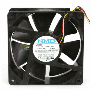 NMB-MAT 12V 0.9A 55MM X 125 MM 4 WIRE FAN by Dell Computer
