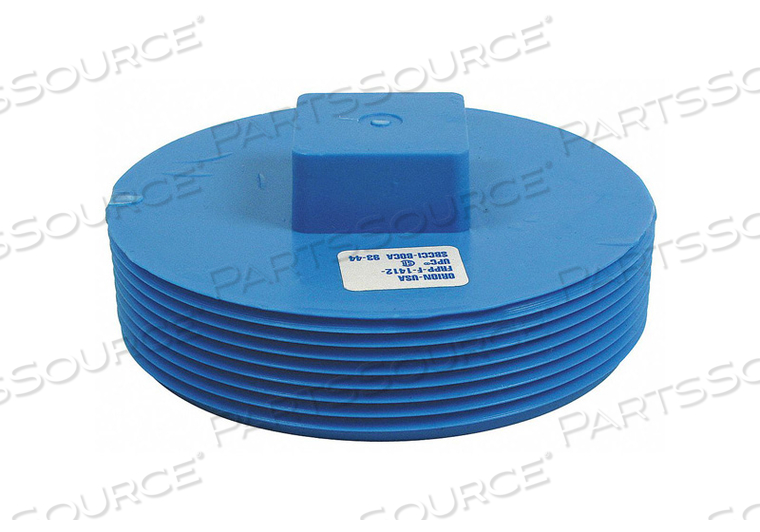 CLEANOUT PLUG 4 IN NO HUB POLYPROPYLENE by Orion