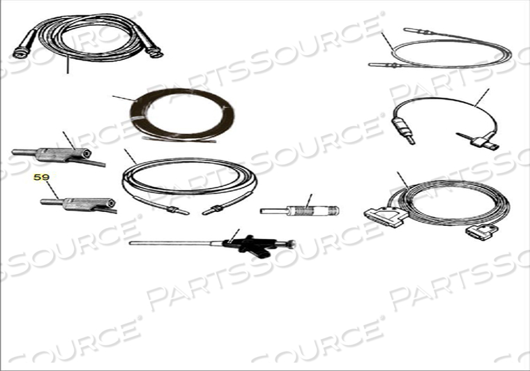 MEASURING CABLE BLACK