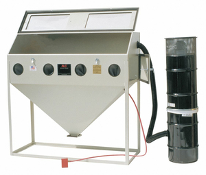 ABRASIVE BLAST CABINET SIPHON FEED TYPE by ALC