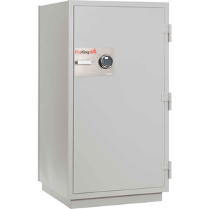 """MIXED MEDIA SAFE ELECTRONIC LOCK 32-1/16""""W X 31""""D X 59-3/4""""H PLATINUM by Fire King"""