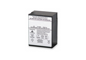 BATTERY SEALED LEAD ACID 6V 14A/HR. by Lithonia Lighting