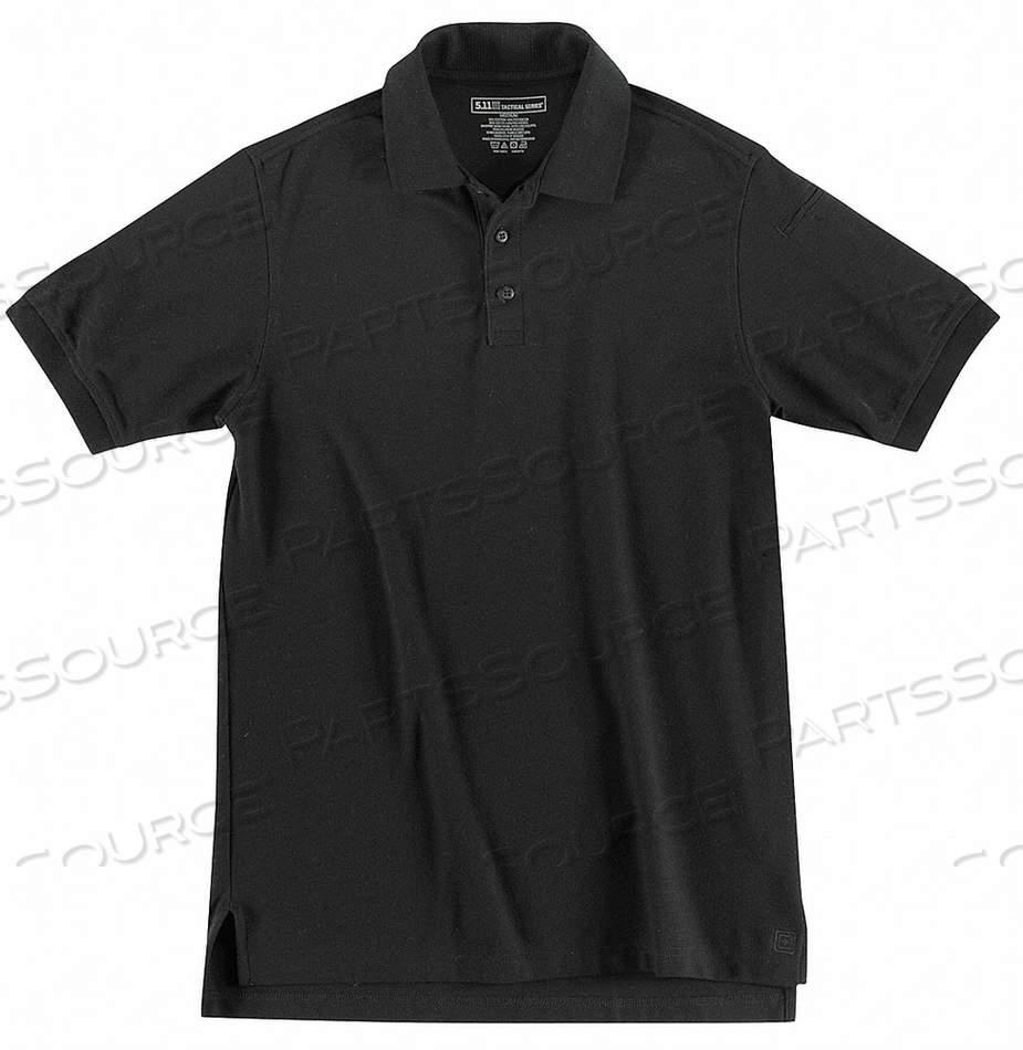 H5473 UTILITY POLO SIZE L BLACK by 5.11 Tactical