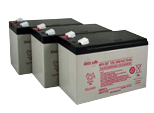 (3) 12 VOLT 8.5AH SEALED LEAD ACID BATTERY by R&D Batteries, Inc.