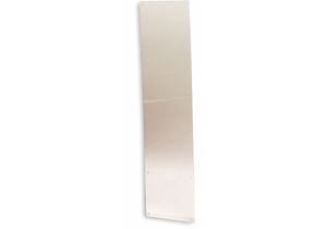 DOOR PROTECTION PLATE 34HX42W BRASS by Rockwood