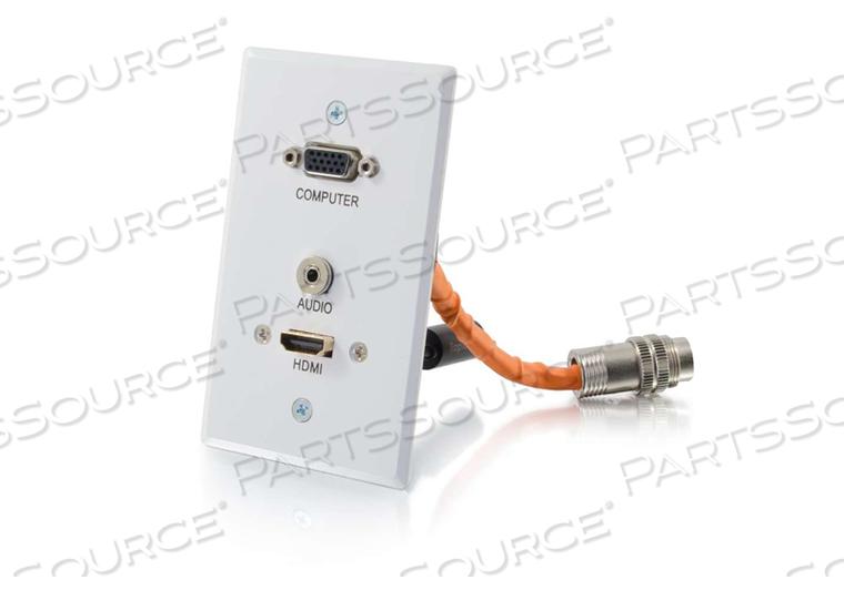 SG HDMI RR HD15 3.5MM WH RRO WP by Legrand AV (C2G)