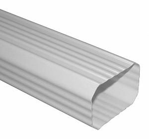 DOWNSPOUT 10 FT. 3X4 IN. WHITE by Genova