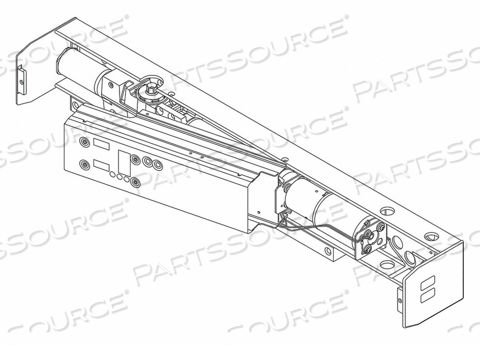 STANDARD CYLINDER ASSEMBLY 28-1/2 IN L by LCN