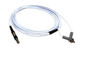 FIBER OPTIC CABLE, 3 X 9 WITH LENS, WHITE by Luxtec (Integra Lifesciences)
