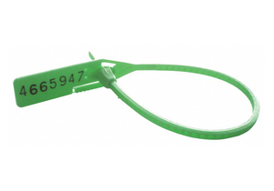 CINCH-UP LOCKING SEAL GREEN PK100 by Cortech