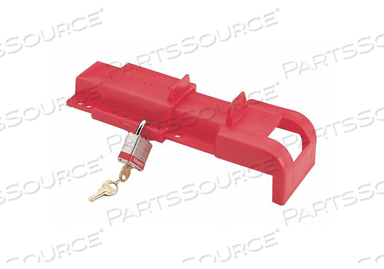 UNIVERSAL VALVE LOCKOUT RED 12 H by Condor