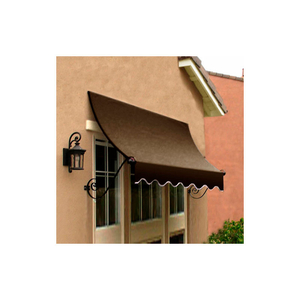 WINDOW/ENTRY AWNING 5-3/8'W X 3-11/16'H X 3'D BROWN by Awntech