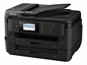 EPSON WORKFORCE WF-7720 - MULTIFUNCTION PRINTER - COLOR - INK-JET - LEDGER/A3 (11.7 IN X 17 IN) (ORIGINAL) - A3/LEDGER (MEDIA) - UP TO 16 PPM (COPYING) - UP TO 18 PPM (PRINTING) - 500 SHEETS - 33.6 KBPS - USB 2.0, LAN, WI-FI(N), USB HOST, NFC by Epson
