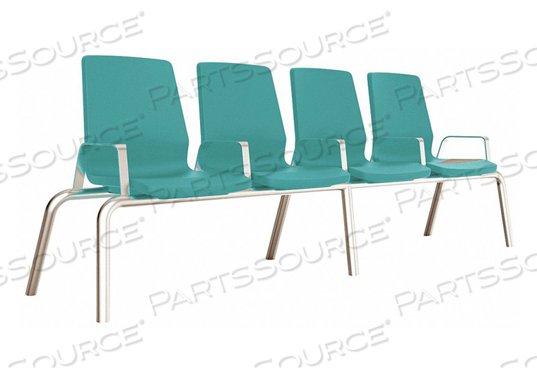 BEAM SEATING 30 W X 30 L BLUE/GRAY by Cortech