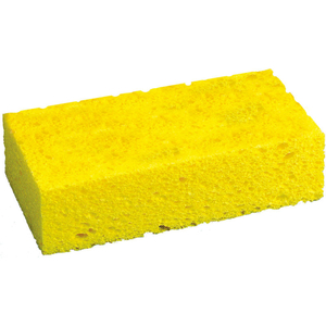 LARGE CELLULOSE SPONGE, YELLOW, 24 SPONGES by Tolco