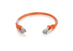 10FT 26 AWG CAT6 SNAGLESS SHIELDED ETHERNET NETWORK PATCH CABLE - ORANGE by Legrand AV (C2G)