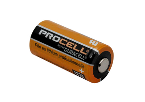 BATTERY, 123, LITHIUM, 3V, 1400 MAH by Duracell