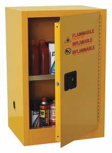 FLAMMABLE SAFETY CABINET 16 GAL. YELLOW by Condor