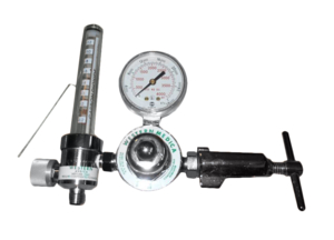 FLOWMETER REGULATOR, CGA 940 YOKE X DISS 1240, 0.5 TO 12 LPM, GRAY, 3000 PSI, MEETS FDA, ISO 9001 by Western Enterprises