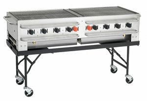 PORTABLE GAS GRILL BTUH 129000 by Crown Verity