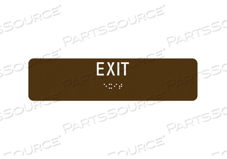 SAFETY SIGN EXIT 2 X8 by Condor