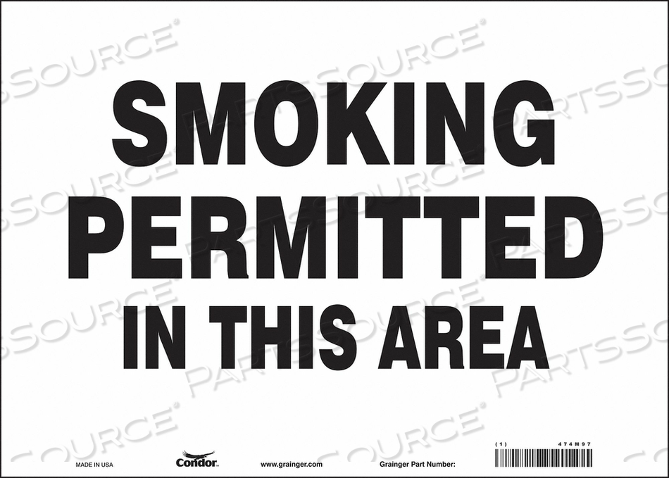 J7033 SAFETY SIGN 14 W 10 H 0.004 THICKNESS by Condor