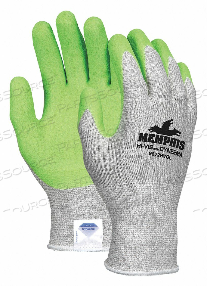 CHEMICAL GLOVES M 14 IN L SMOOTH PR by MCR Safety
