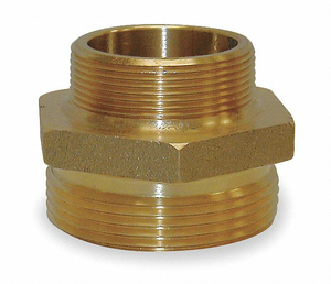 FIRE HOSE ADAPTER 2 NPT 2-1/2 NH by Moon American