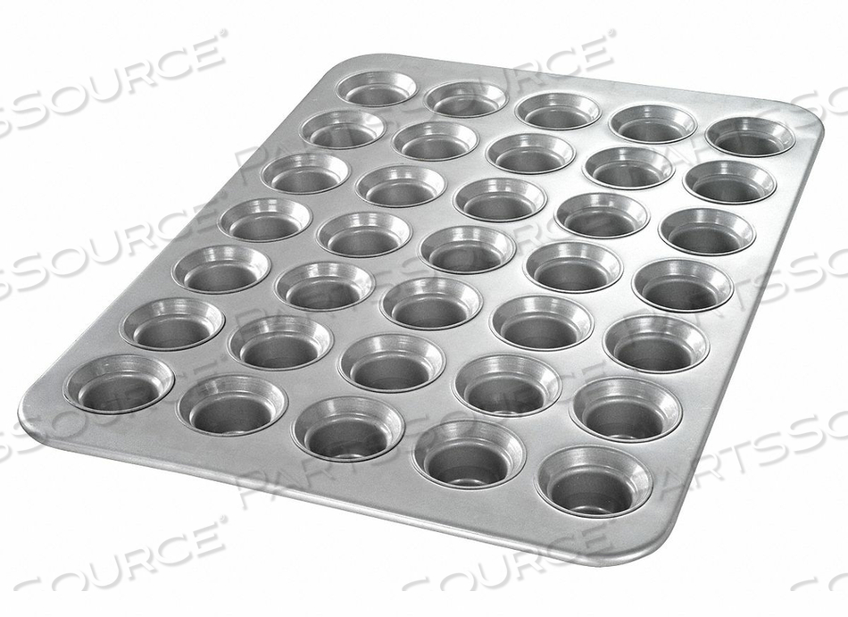 MINI CROWN MUFFIN PAN 35 MOULDS by Chicago Metallic