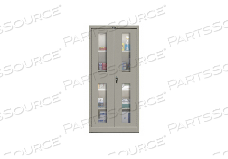 H2202 SHELVING CABINET 72 H 48 W GRAY by Hallowell