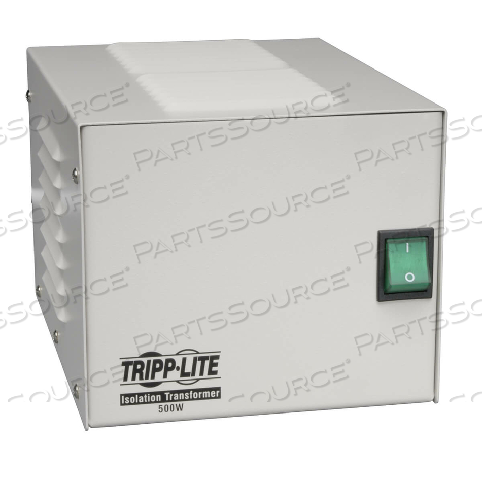 TRIPP LITE ISOLATION TRANSFORMER 500W MEDICAL SURGE 120V 4 OUTLET TAA GSA by Tripp Lite