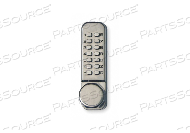 D0002 PUSH BUTTON LOCK ENTRY PASSAGE STAINLESS by Kaba